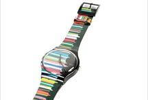 I LOVE SWATCH / Swatch horloges, ze zijn niet allemaal mooi, maar deze wel. / by Emmy Uittien