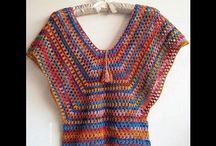 remera tejida al crochet