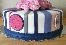 Taarten met bloemen / Mijn taarten