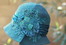 винтаж шапочка / конструирование идеи головных уборов
