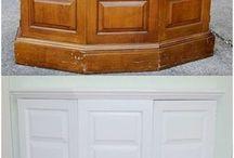 Painting varnished wood