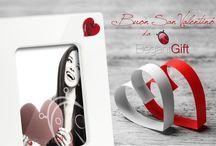 SAN VALENTINO / portafoto originali per la festa degli innamorati