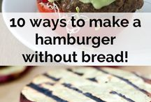 10 ways to make a burger without bread