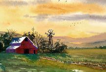 Barns / by Judy Martin