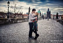 Vacation photography in Prague / Book portrait photographer in Prague to get great vacation photos, the best souvenir from Prague of you in  the most romantic getaway in Europe - perfect for couples, engagement or honeymoon