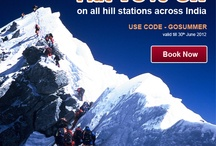 Offer for Hill Stations Across India / FLAT 10% off on all Hill Stations Across India  Use Code :- GOSUMMER  Book Now :- http://goo.gl/Rb5aA