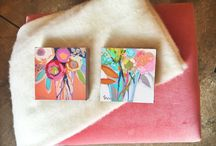 Art for Small Spaces / Small art perfect for tiny homes, apartments, and small spaces.