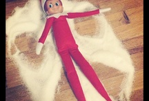 Elf on the Shelf...... / Things that Kirsty's very own visiting Elf might just get up to, with a wee bit of help from Pippa <3 / by Lynsey Allan