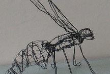 3D - wire scultpures