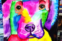 Dog Art & Rainbows / by Monica Watkins