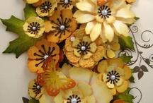 ダイで立体のお花を作る