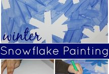 winter art activities