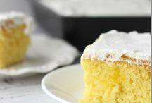 Recipes - Lemon Recipes / Lemon flavored Recipes