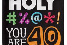 40th ideas