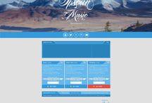 Site design (multipage)/Дизайн сайтов (многостраничные) / Дизайн многостраничных сайтов. Автор: Сергей Опальный (Opsean). Для связи с дизайнером пишите на e-mail: opsean@rambler.ru