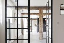 Black Framed Doorway
