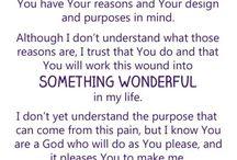 Scriptures & Prayers