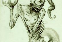 Dämonen, Monster und Fabelwesen
