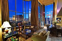 Rooftop Strip Area Penthouse / One of a kind loft-style two level rooftop penthouse with direct Wynn Golf Course and Strip Views www.lasvegasstripluxurypenthouse.com www.lasvegascondoworld.com