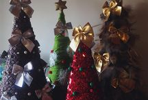 decor Christmas trees