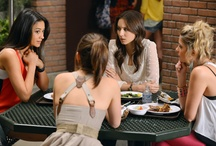 Pretty Little Liars  / Pretty Little Liars is a ABC Family original series about five best friends and their life in a seemingly idyllic community. Until the night Alison goes missing. Mondays at 8/7c on ABC Family. / by Warner Bros. Word