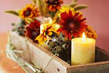 Autumn Decorating / Fall, Halloween and Thanksgiving deorating