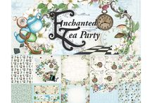 Enchanted Tea Party | #couturecreationsaus / Enchanted Tea Party Collection is designed by Denise Boddey for Couture Creations  Released December 2016 #scrapbooking #cardmaking #papercrafting  #enchantedteaparty #couturecreationaus #artdecocreations