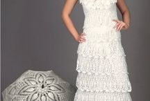 Wedding Crochet / All things crochet that are related to weddings including crochet wedding dresses, veils, cake toppers and more.