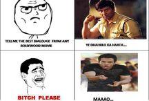 Bollywood Funny Trolls