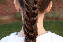 Children's hair styles / Plaits etc