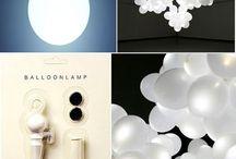 Effet lumière, lampes et lampadaires