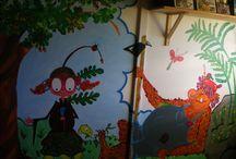MURALES / Realización de murales tanto en interior como en exterior