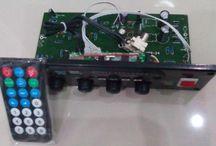 GSX 194 Tone Control Aktif Speaker + USB MP3 , FM Stereo player