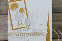 SU hey chick stamp set