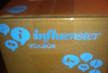 #GoVoxBox / Products that I received from Influenster to try out and review.