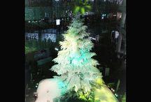 さすがはこの冬1番話題なクリスマスツリーです。美しい。 a beautiful Christmas tree #christmastree #illustration #tokyo #kitte #クリスマスツリー #キッテ写真