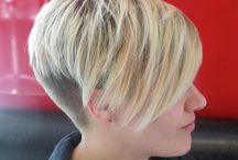 Haarschnitte / blonde hair pixie cuts