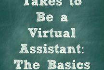 Become a VA / by Rebecca Harvey