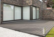 TERASY TWINSON O-TERRACE / Twinson O-Terrace je vyroben ze dřeva a PVC. SNADNÁ MONTÁŽ I ÚDRŽBA TERAS