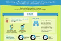 Analítica Web y Big Data / Infografías sobre analítica web, análisis de datos, Big Data.