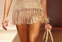 macrame swim wear