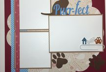 Kitten Scrapbooking Layouts