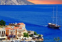 Greece Sailing Holidays / Sailing around the Greek Islands renting a Yacht.