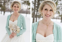 Winter Wedding Inspiration / This is a collection of looks and ideas to help you have the most wonderful winter wedding possible!