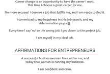 job affirmation