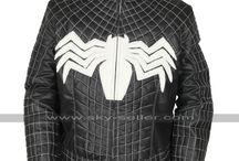 Tom Hardy Venom Costume Leather Jacket