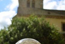 Dans ma boule : la #Bourgogne / Quelques-unes des photographies que j'aime réaliser avec ma boule en verre !