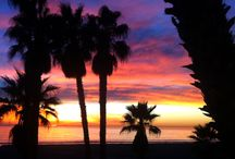 Sunsets / The sky puts on a show every night at Casa del Mar! we love our beach sunsets!  Santa Monica, CA.
