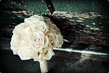 White Bouquets/Flower Arrangements / White wedding flower arrangements, bouquets, centerpieces, event decor, corsages, boutonnieres