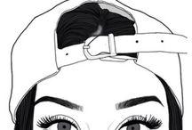 Girl draw tumblr ❗️